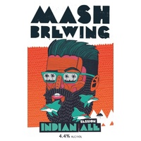 MASH BREWING INDIAN ALE  6x375ML