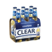 COOPERS CLEAR DRY BTL  6x355ML