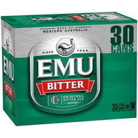 EMU BITTER CAN  30PK       375ML