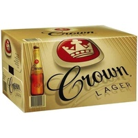 CARLTON CROWN LGR BTL   24x375ML