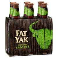 FAT YAK ALE BTL          6x345ML