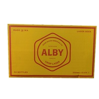 GAGE ROADS ALBY LAGER 3.5%     24x330ML