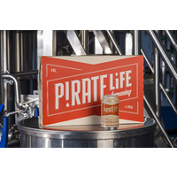 "PIRATE LIFE IPA MID 3.5% ""Throwback"" 24x355ML"