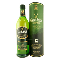 GLENFIDDICH 12 YEAR OLD SCOTCH  700ML