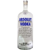 ABSOLUT VODKA             4.5L