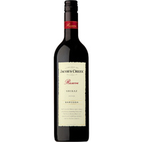 JACOBS CREEK RESERVE SHIRAZ     750ML