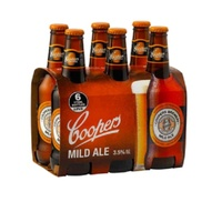 COOPERS MILD ALE BTL     6x375ML