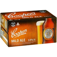 COOPERS MILD ALE BTL    24x375ML