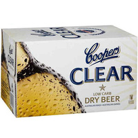 COOPERS CLEAR DRY       24x355ML