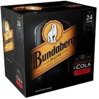 BUNDY UP & COLA 4.6% CUBE 24x375ML