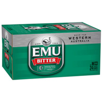 EMU BITTER STUBBIES     24x375ML