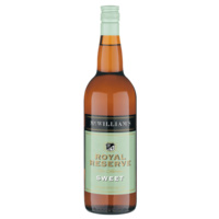 MCWILLIAMS ROYAL RESERVE SWEET SHERRY      750ML