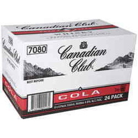 CANADIAN CLUB & COLA       24x330ML