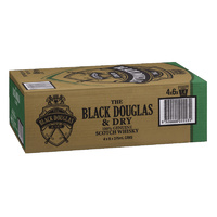B/DOUGLAS&DRY CAN     24x375ML