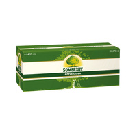 SOMERSBY CDR APL 10PK    375ML
