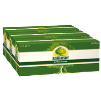 SOMERSBY CIDER APPLE 10PK 30x375ML