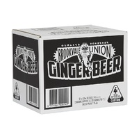 Brookvale Union Ginger Beer BTL 12x500ml