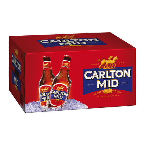 CARLTON MID BTL         24x375ML