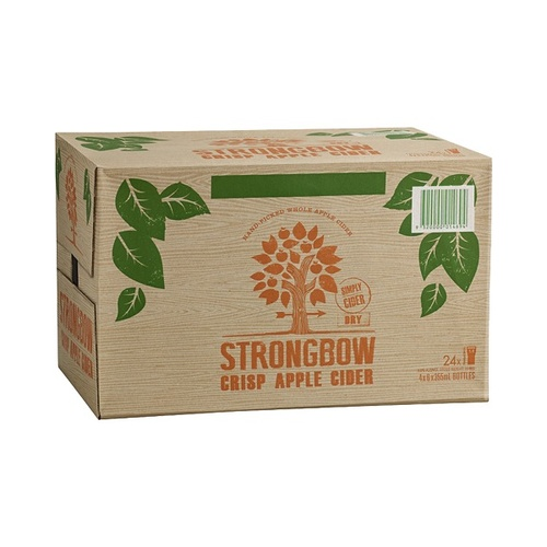 STRONGBOW DRY BTL     24x355ML